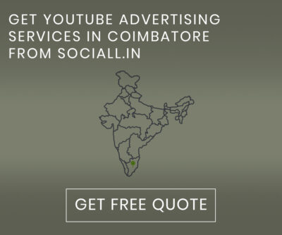 Get YouTube Advertising Services in Coimbatore from Sociall