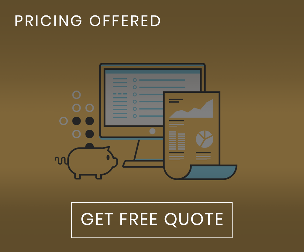 pricing offered