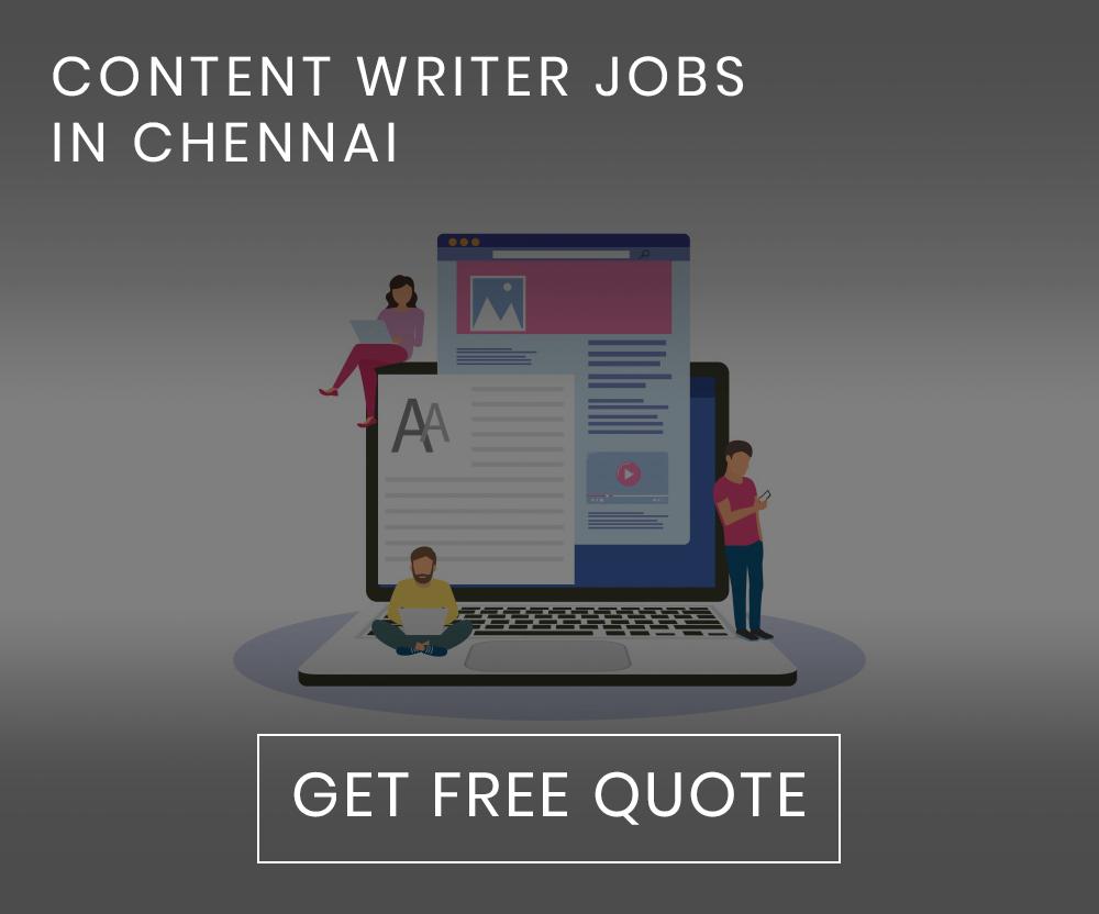 Content Writer Jobs in Chennai
