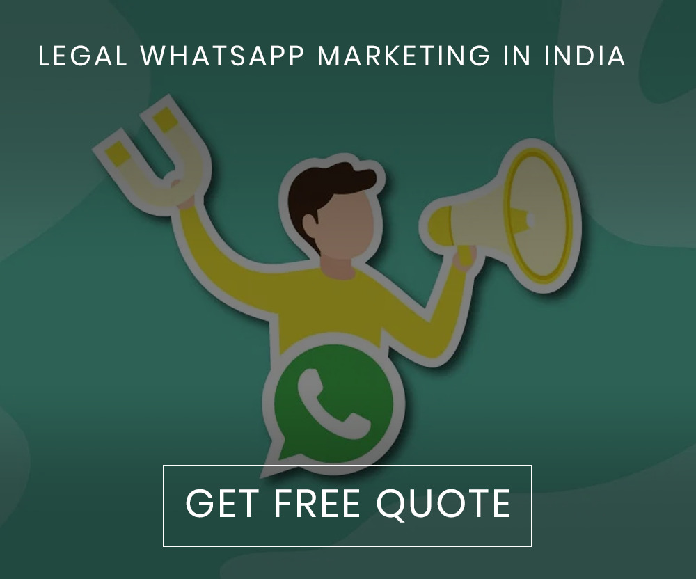 LEGAL WHATSAPP MARKETING IN INDIA