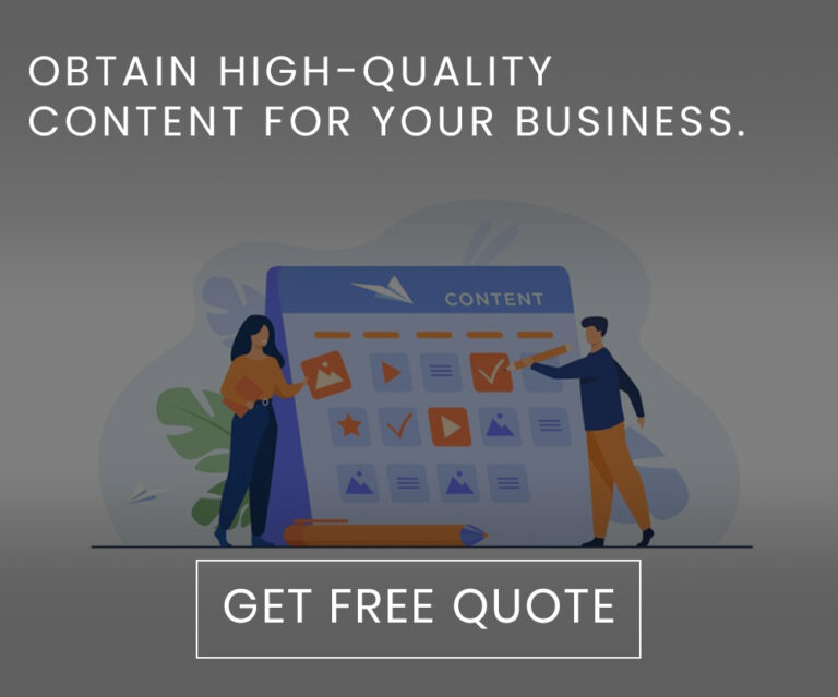 Obtain high-quality content for your business.